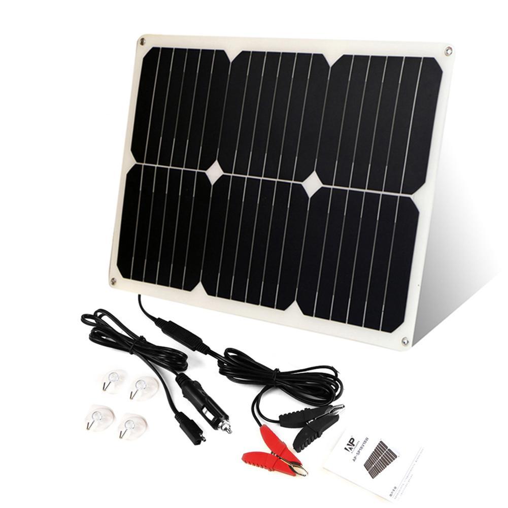 Bater-a-Solar-de-coche-maintanger-12V-18-W-Panel-Solar-de-barco-para-coche-cargador
