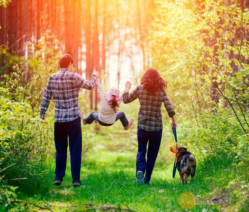 familia-bosque
