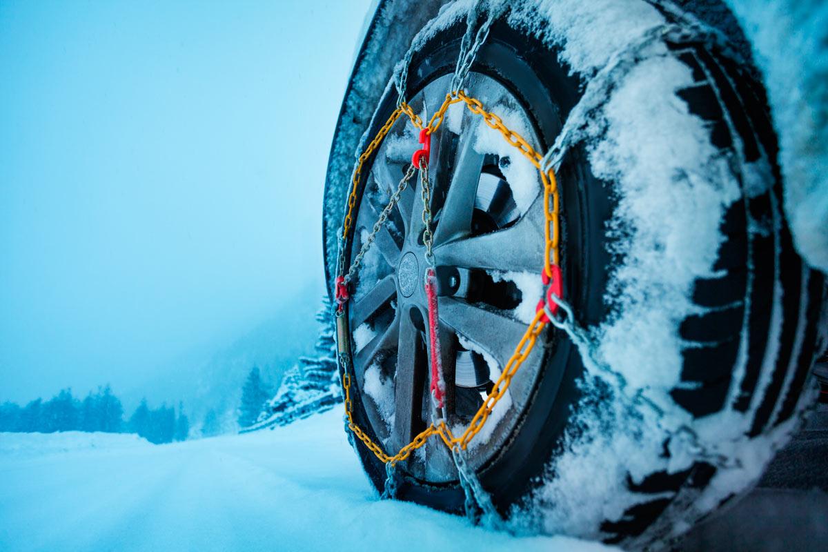 ¿Cómo elegir las cadenas de nieve apropiadas para tu vehículo?